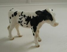 German Schleich Cow Calf Toy Figurine