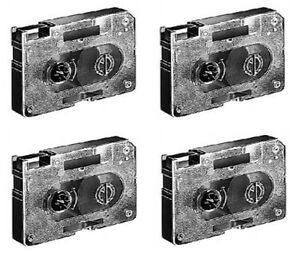 4 x Farbband Gr. 410 für Canon IR-50 Typestar 2 3 4 5 6 7 S50 S60 Thermo Ribbons