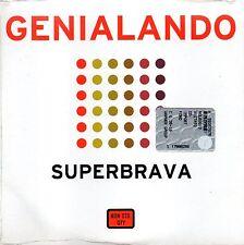 Genialando Superbrava Cd Promo 1999 Cardsleeve Still Sealed  One Track