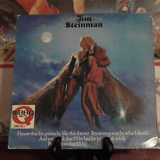 JIM STEINMAN BAD FOR GOOD LP W/ LYRIC SLEEVE MEAT LOAF PRODUCER FE 36531 promo