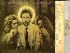 PETE TOWNSHEND empty glass (Canadian Original) LP EX+/EX-
