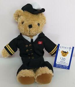 New Legacy Female Navy Officer Bear, 23cm