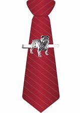Codé 14 Bulldog Chien sur une pince à cravate liens Diapositive Pewter Bijoux Bar Costume