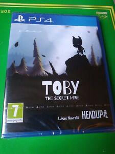 Toby The Secret Mine PS4 Playstation 4 Rare PAL PEGI Version