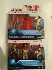 """Star Wars Chirrut Imwe Baze Malbus Rey elite Praetorian guard 3.75"""" Force Link"""