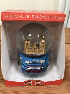 London Themed Snow Globe Storm Brand New Gift Souvenir