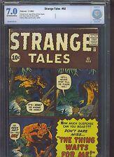 STRANGE TALES #92 CBCS FN/VF 7.0; OW-W; Kirby/Ditko art; Ant-Man prototype!