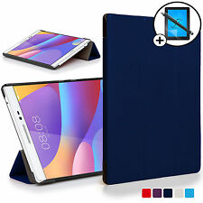 Custodia COVER Smart Blu Huawei Honor 2/Pad MEDIAPAD t2 8.0 ATT PROT STYLUS PRO