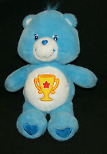 "Care Bears CHAMP BEAR Plush 13"" 2001"