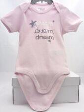 Verbaudet body rose manche courte motif Dream bébé fille 18 mois