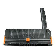 909-5 A4 Guillotine Ruler Paper Cutter Trimmer Cutter Black-Orange