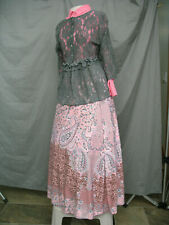 Civil War Dress Women's Victorian Costume Edwardian Reenactment Style