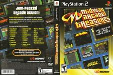Midway Arcade Treasures 1 Sony PlayStation 2 PS2 COMPLETE BLACK LABEL Gauntlet