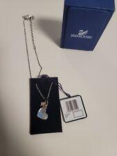 New ListingSwarovski Heart Blue Butterfly Necklace