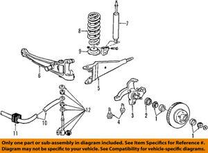FORD OEM 08-14 E-350 Super Duty Stabilizer Sway Bar-Front-Link 8C2Z5K483A