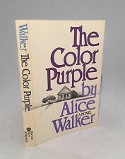 The Color Purple-Alice Walker-SIGNED!!-First Softcover Edition/1st Printing-RARE