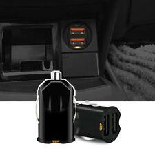 2.1A Mini Dual USB Car Charger Adapter 2 Port 12V-24V Cigarette Socket Lighter