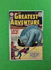 """My Greatest Adventure #57 (1961): """"A Beast Was My Judge!""""  VG/FN!"""