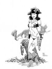 Sexy Pirate fantasy original    pin up  art  by Paradis