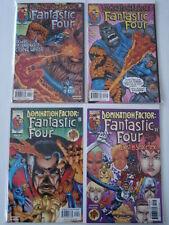 FANTASTIC FOUR DOMINATION FACTOR 1-4 (2001) MARVEL 1999 SET (4)