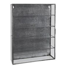 Wall Hanging Storage Cabinet With 4 Shelves & Glass Door by Ib Laursen