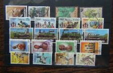 Jamaica 1984 Overprints Bustamante Olympics Railways Christmas 1985 Birds Used