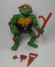 Vintage Raphael 1988 Hard Head Figure Belt & Weapons TMNT Ninja Turtles Mirage