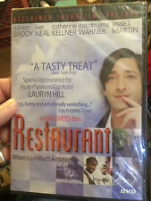 Restaurant (DVD new !!) Andrien Brody, Love Meets Ambition in New Jersey, Comedy