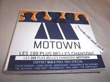 MOTOWN-100 BEST SONGS-MARVIN GAYE/MICHAEL JACKSON/4 TOPS...5 Discs NEW SEALED CD