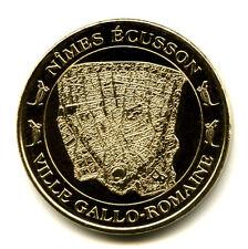 30 NIMES Ecusson, Ville gallo-romaine, 2013, Monnaie de Paris
