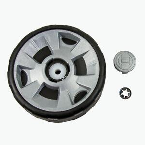 Bosch Vorderrad für Rotak Rasenmäher, Original Ersatzteil F016104305