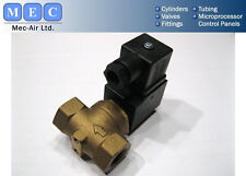 3/8bsp 2/2nc Solenoid Valve For Water Or Air 24dc
