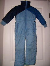 MiD childs kids lined/insulated Snowsuit size 5 blue Winter girls boys