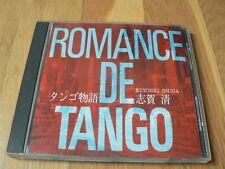 Kiyoshi Shiga : Romance de Tango - 1992 CD Japan ICD-1107