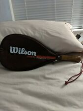 Vintage Wilson-Arrow-Dynamic-Extr usion-Racquetball-Racquet With Case
