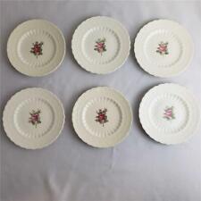 "= Lot of 6 Spode Jewel Copeland Billingsley Rose Bread & Butter Plates 6-1/4"""
