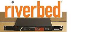 2 X RiverBed SteelHead SHA-00250-M WAN APP ACCELERATOR