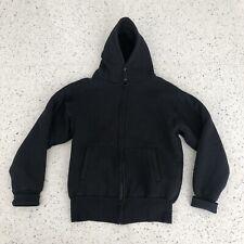 Camber Double Thick Sweatshirt Jacket Black Size Large