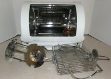 George Foreman Gr59A Baby George Compact Rotisserie Oven Grill