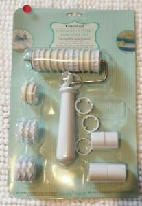 Kitchen Craft Fondant Cutter Embossing Set