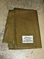 Blanket US WW2 215cm x 165cm New Wool Mustard Army American