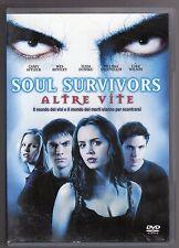 dvd SOUL SURVIVORS ALTRE VITE C. AFFLECK, W. BENTLEY, E. DUSHKU, M. SAGEMILLER