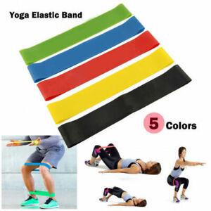 Fitnessband Set Gymnastikband Widerstandsband 5 Stärken Resistanceband Latexband