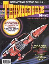 Thunderbirds #8 (25th Jan 1992) TV21 full colour reprint strips