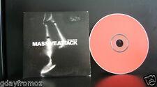 Massive Attack - Tear Drop 4 Track CD Single - Card Cover