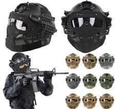 US Ship Protective Goggles G4 System Full Face Mask Helmet Airsoft Paintball