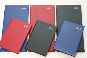 2022 'POCKET 1 WEEK TO VIEW' OR 'SLIMLINE 2 WEEKS TO VIEW' DIARY WITH FREE PEN.