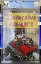 "1946 DETECTIVE COMICS #111 CGC FN+ 6.5 ""LT-OW"" Mortimer CVR/ART Train Cover"
