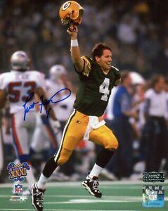 Brett Favre Signed Green Bay Packers Super Bowl XXXI Unframed 8x10 Photo - The K