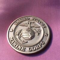 MARINE CORPS 1ST BATTALION 5TH MARINES Heavy Coin Guadalcanal Unique